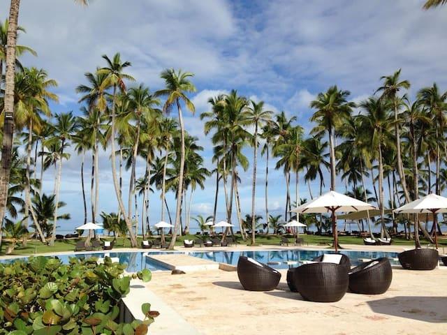 New Luxury Beach Front Apartment - Las Terrenas - Apartment