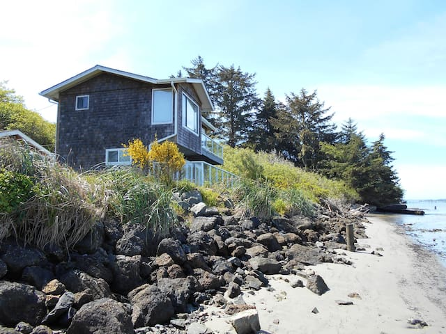 Waterfront condo lower - Coos Bay - Casa