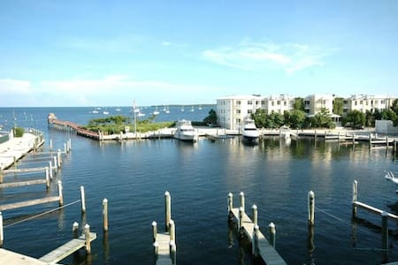 Breathtaking harbor and ocean view! - Key Largo