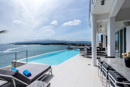 Miami White Villa with amazing view