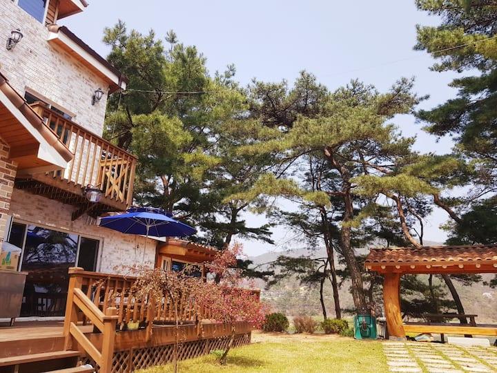 힐링이되는 비내섬의 전원주택..^^