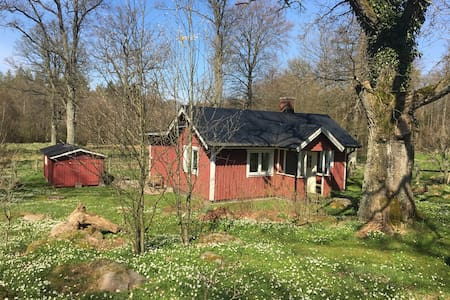 Small house on the countryside - Ljungbyhed - Talo