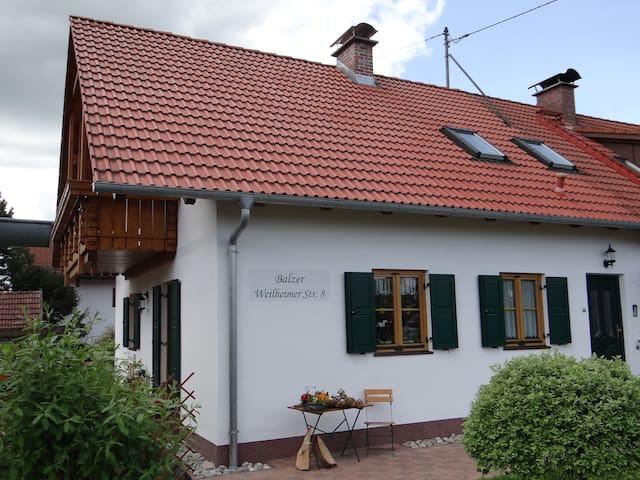 Ferienwohnung zwischen München und Garmisch-P.