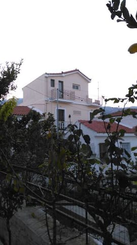 Hidden Tresure Kokkari Penthhouse 50m from the sea - Kokkari - Apartament