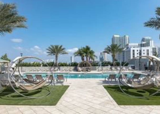 Ocean view- close to Brickell, Wynwood and airport