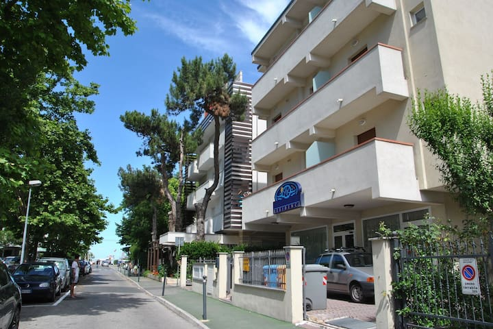 Cozy Apartment in Riccione Italy with Beach Nearby