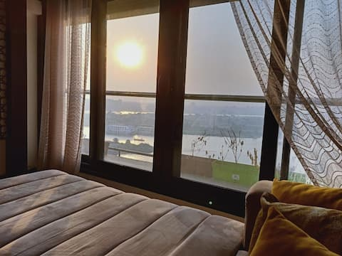 Fully Nile view Apartment