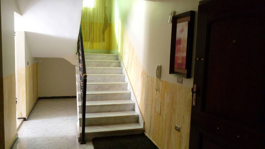 Two floors private Apartment - 6th of October City / District 8 residential part 1 - Pis
