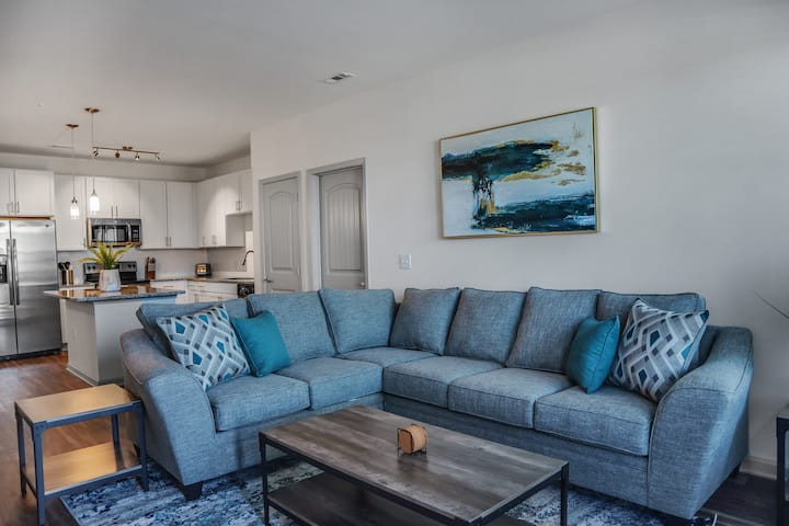 Luxury 2BR Apt. in South Charlotte -6mil Airport