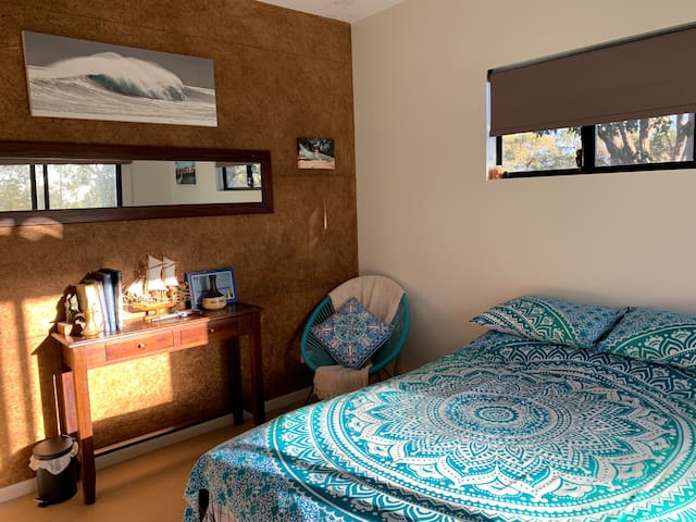 Room 2  double bed & private deck