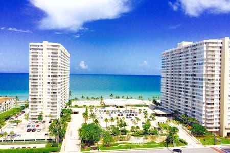 Beautiful ocean view/ Apartment on the beach - Hallandale Beach - Wohnung