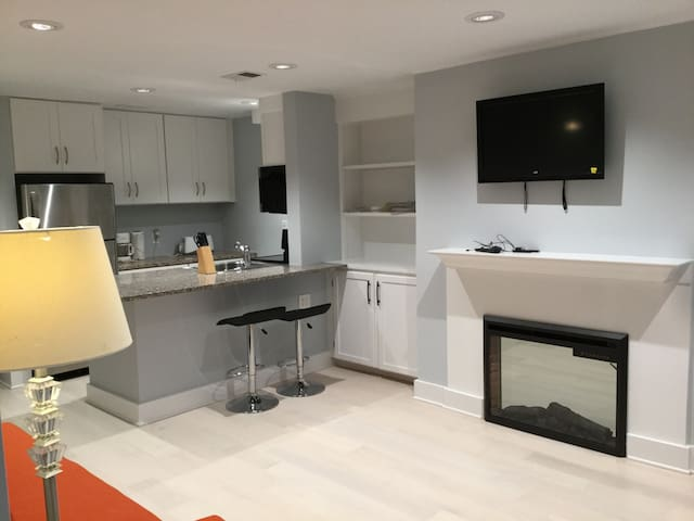 Newly renovated spacious central 1br near Zoo