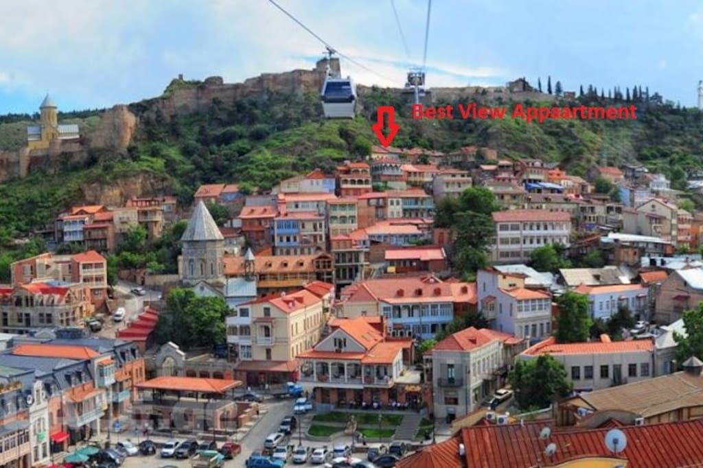 Location of Best View Tbilisi