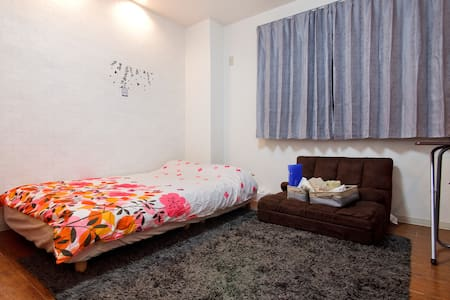 5 min Shinsaibashi, 1 min station, Free wifi 3 ppl - Osaka-shi Nishi-ku Shinmachi - Appartement
