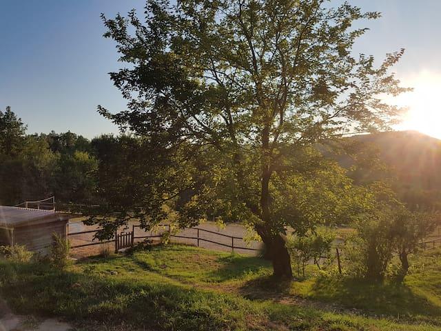 Logement en campagne à 2 kms du village de Aouste