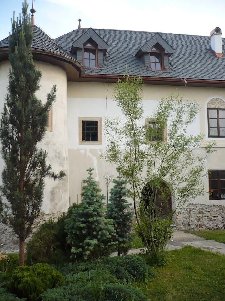 Castle from 15th century/Kotešová