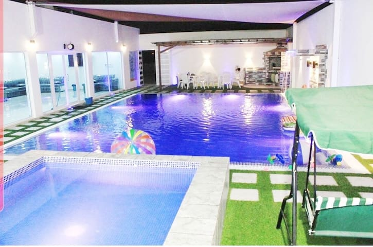 Luxury Chalet swimming pool adult & children