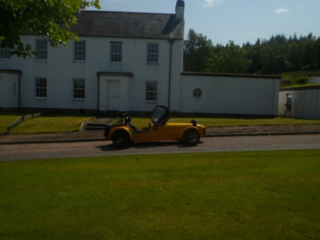 Spey Cottage - Tormore Distillery - Grantown on Spey - House