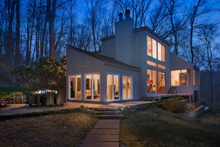 Modern Luxurious CT Country Home