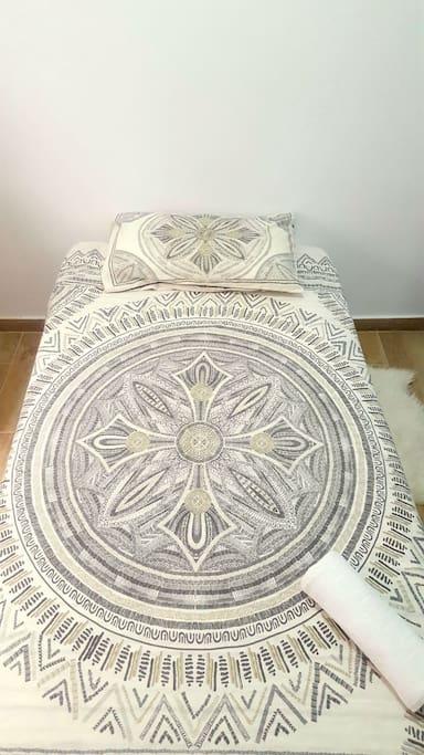 cama individual de 1.05cm