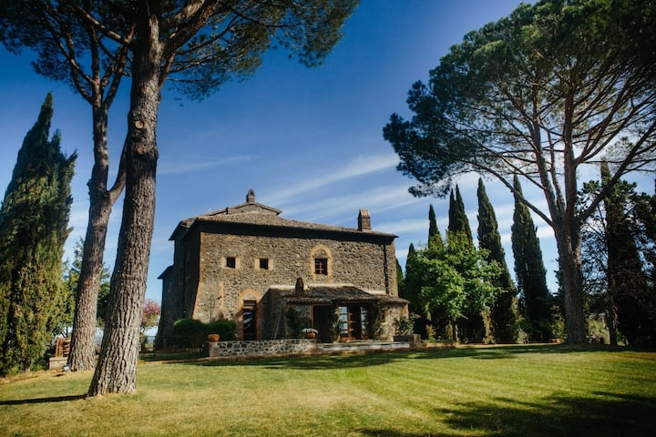Villa Greta, just 12 km from Civita di Bagnoregio