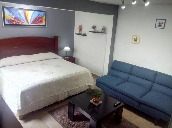 Súper Habitación a 5 min del Aeropuerto Ciudad MEX