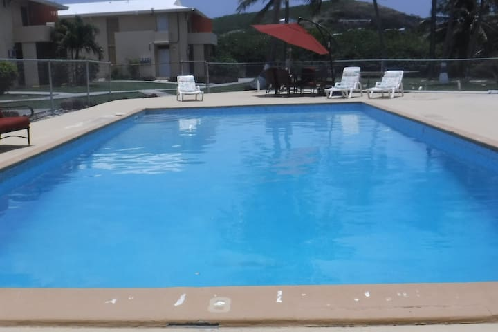 Your Home away from Home, Christiansted Condo W/AC