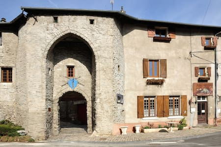 Sweet home in a medieval castle - Dargoire - Apartemen