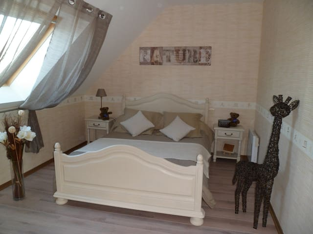 1 chambres à louer chez l'habitant - Trévières - Haus