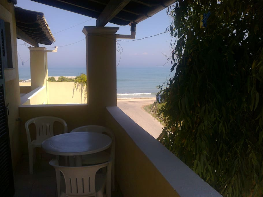 SEAVIEW FROM THE BALCONY