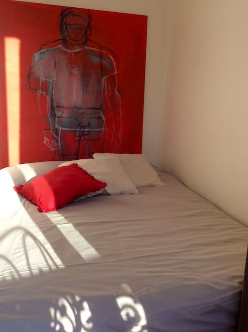 Small room with double BED