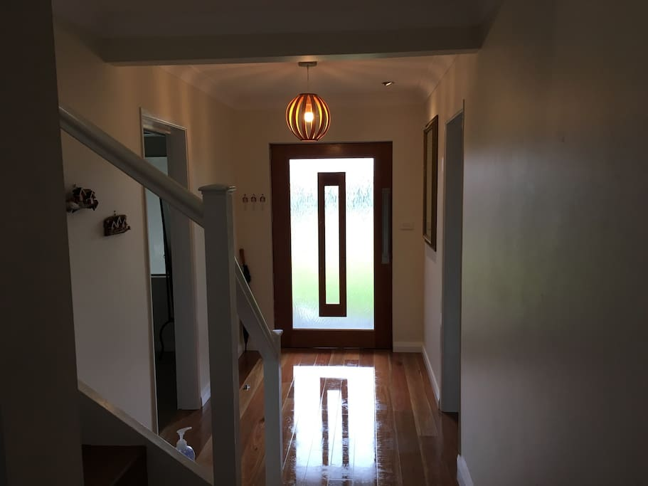 Entrance or hallway into house