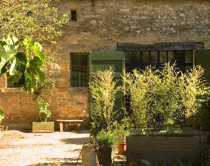 Maison esprit loft - Lourmarin - face au chateau