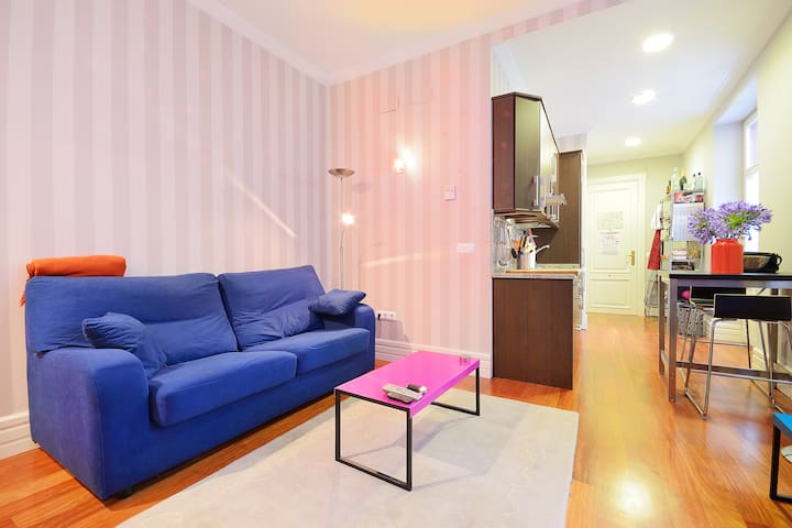 Lovely flat with wifi in Abando - Bilbao - Appartement