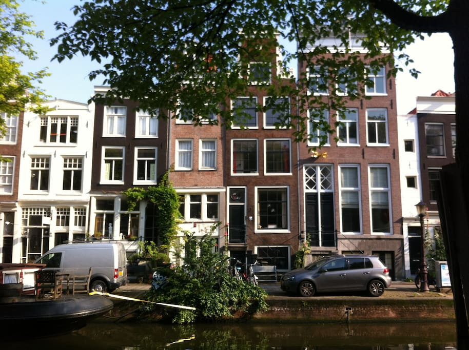 The Bloemgracht, the most beautiful canal in Amsterdam