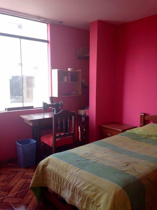 Habitación individual (Cuarto piso)