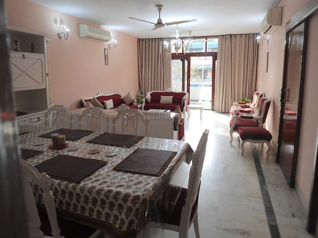 2BHK with cook in South Delhi,GK2 | Harmony Suites