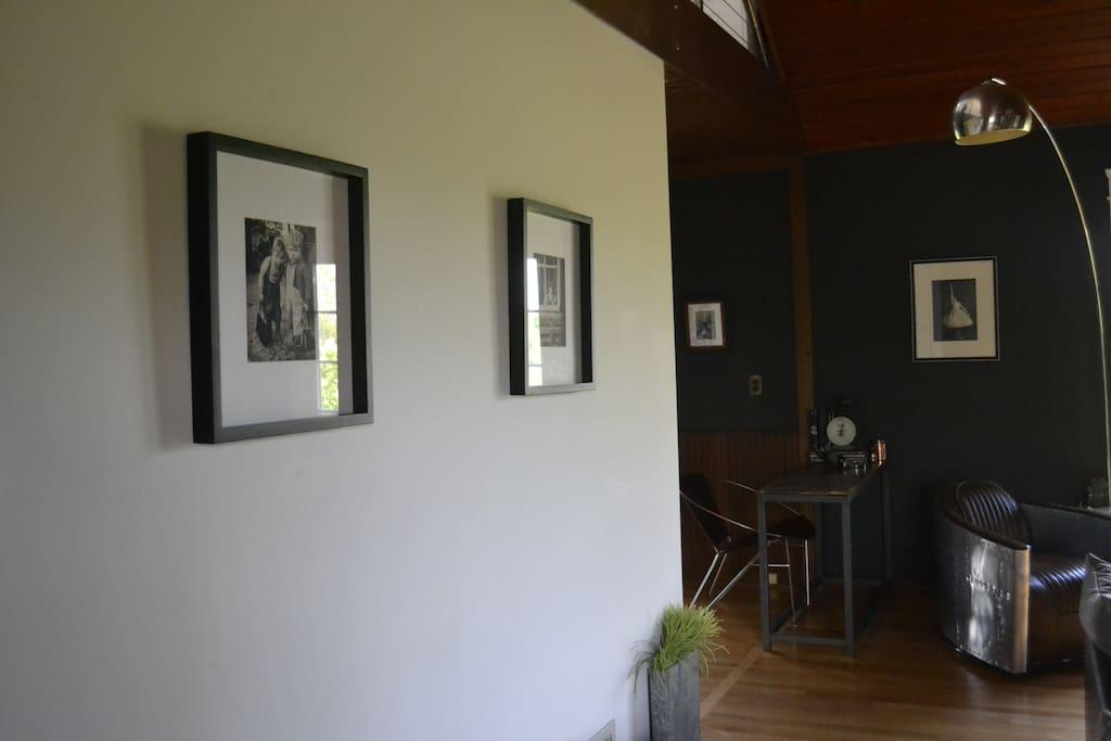Industrial modern living space