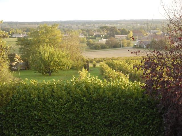 Au milieu des vignes ferme du XVIIIème