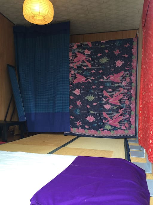 please use this room room is tatami floor