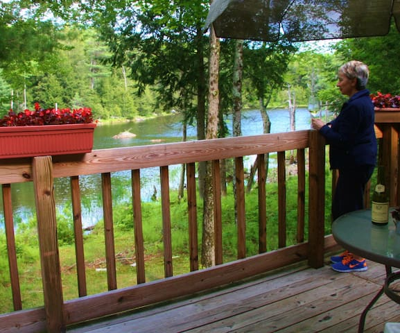 Beautiful Berkshries on the Pond