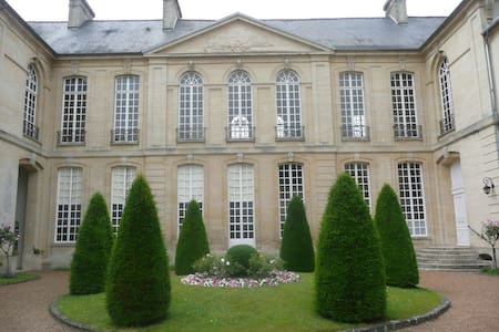 In an 18th century mansion-house - Bayeux
