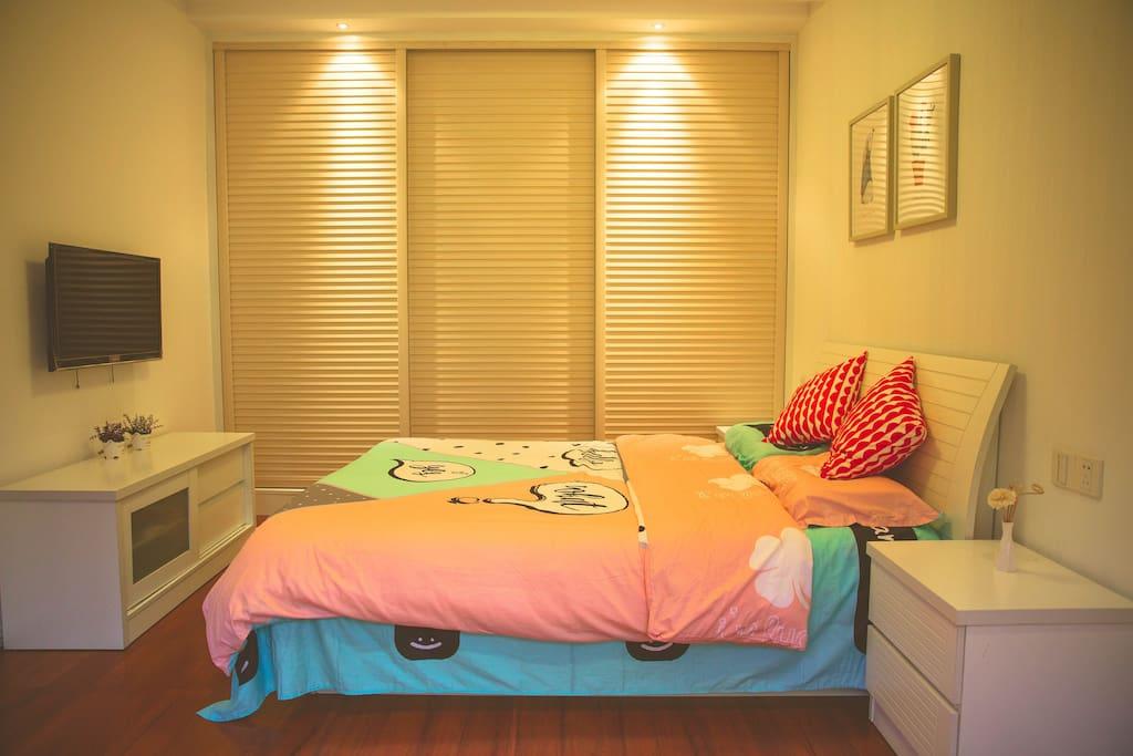 20㎡的卧室,简单整洁