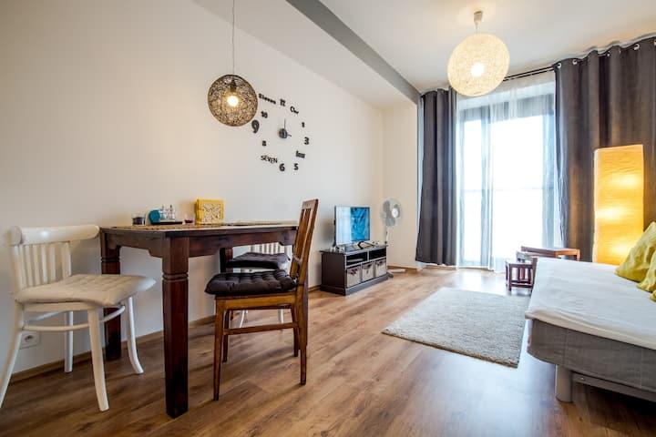 City center modern cozy apartment by Kovee