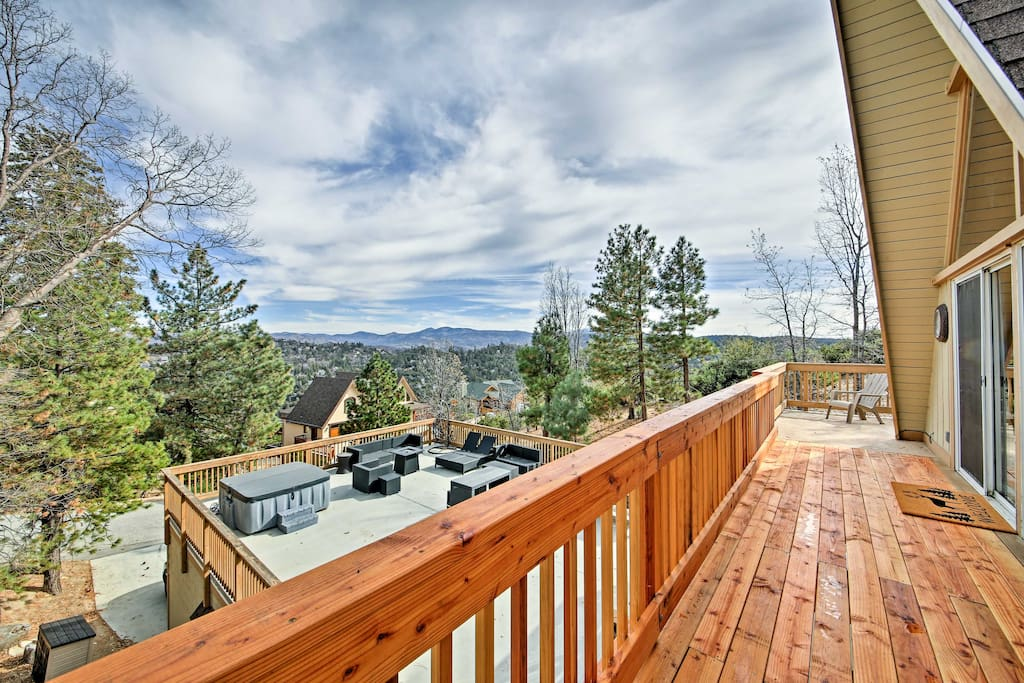 This home boasts 4 bedrooms, 3 baths, and an expansive private deck.