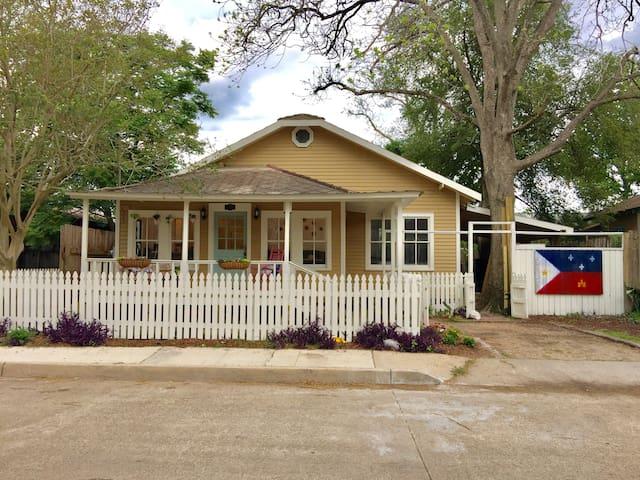 Historic Home DownTown LAfayette - Lafayette - Casa