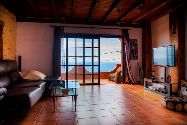 Casa Rústica vistas mar y montaña - La Laguna - House