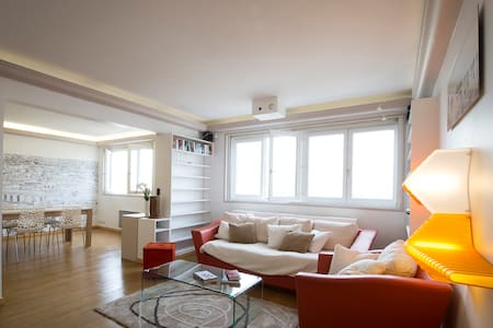 Rooftop apartment with amazing view over Paris! - Clichy - 아파트