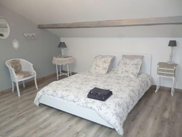 Logement indépendant:Chambre + SDB - Lens - Apartment