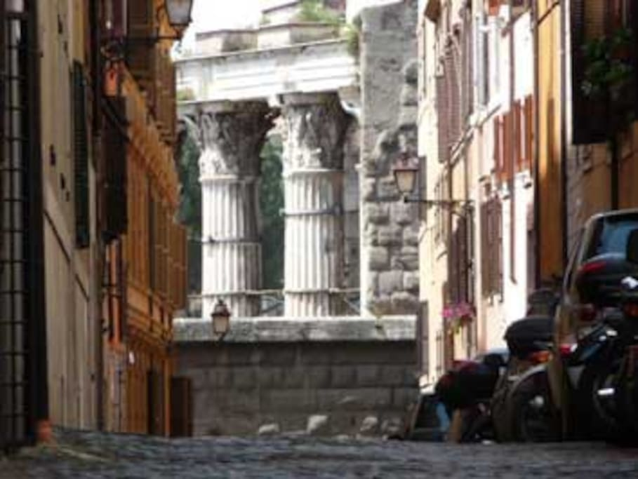 Via Baccina view